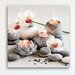 Eurographics White Orchids In Candle Light Graphic Art Canvas