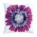 Violet on White Linen