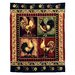 DonnieAnn Company Lodge Design Rooster Novelty Rug