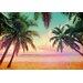 Komar 8 Piece Miami Beach Wall Mural Set