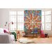 Komar 4 Piece Happiness Flower Wall Mural Set