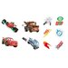Disney 10 Piece Cars Racing Foam Elements Wall Sticker Set