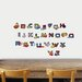 Disney Cars Alphabet Sticker