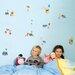 Disney 10 Piece Winnie Pooh Mini Foam Elements Wall Sticker Set