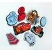 Disney 24 Piece Cars 2 Mini Foam Elements Wall Sticker Set