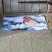 Fallen Fruits Best for Boots Robin Printed Doormat
