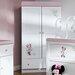 Obaby Minnie Mouse 2 Door Wardrobe