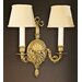 Martinez Y Orts 2 Light Semi-Flush Wall Light