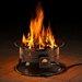 Heininger Holdings LLC Heininger Portable Propane Outdoor Fire Pit