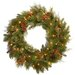 National Tree Co. Pre-Lit Noble Mixed Wreath
