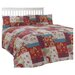 Dreams 'N' Drapes Oriental Patchwork Duvet Set