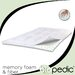 "BioPEDIC 1.5"" Memory Plus Classic Memory Foam & Fiber Mattress Topper"