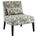 Powell Furniture Lila Floral Fabric Slipper Chair