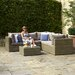 Bramblecrest Sahara 5 Seater Sectional Sofa Set with Cushions