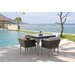 SkyLine Design Brafta 4 Seater Dining Set with Cushion