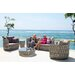 SkyLine Design Strips 3 Seater Sofa with Cushion