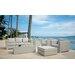 SkyLine Design Ibiza 5 Seater Sectional Sofa Set with Cushions