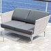 SkyLine Design Brafta 2 Seater Sofa with Cushion