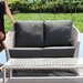 SkyLine Design Malta 2 Seater Sofa with Cushion