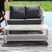 SkyLine Design Malta 5 Seater Sectional Sofa Set with Cushions