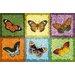 Akzente Gallery Butterfly Mosaic Doormat