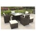 Cozy Bay Cube 8 Seater Dining Set with Cushions