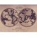 Graham & Brown Map Graphic Art