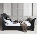 Gallery Parisian House Safari Super King Upholstered Sleigh Bed