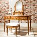 Gallery Parisian House Baltimore Dressing Table