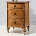 Gallery Spire 3 Drawer Bedside Table