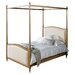 Gallery Parisian House Hartwick King Upholstered Four Poster Bed