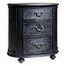 Gallery Parisian House 3 Drawer Bedside Table