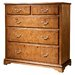 Gallery Parisian House 5 Drawer Chest of Drawers