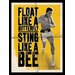 Art Group Muhammad Ali Float Like a Butterfly by Corbis Vintage Advertisement on Canvas