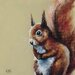 Art Group Bushy Tailed by Louise Brown Art Print on Canvas