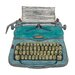Art Group Typewriter by Barry Goodman Canvas Wall Art