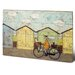 Art Group Off for a Breakfast by Sam Toft Art Print Plaque
