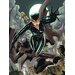 Art Group Batman - Cat and Bat Canvas Wall Art