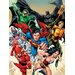 Art Group Justice League - Attack Canvas Wall Art