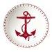 ECP Design Ltd Seaside 12cm Fine Bone China Dish