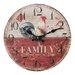 Juliana Impressions Hometime 30cm Family Wall Clock