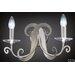 Contemporanea Sofia 2 Light Candle Wall Light
