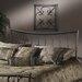 Hillsdale Furniture Edgewood Metal Headboard