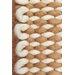 Husain International Loft Hand-Woven Ivory/Beige Area Rug