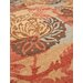 Husain International Medley Hand-Knotted Gold/Red Area Rug