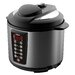 Hannex 6.3-Quart Electric Pressure Cooker with 2 Inner Pots