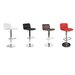 Whiteline Imports Vivo Adjustable Height Swivel Bar Stool