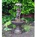 Kingfisher Boy and Girl under Umbrella Water Fountain