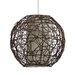 Gallis Bamboo 1 Light Globe Pendant