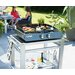 cook in garden Finesta Gas Plancha with 2 Burners
